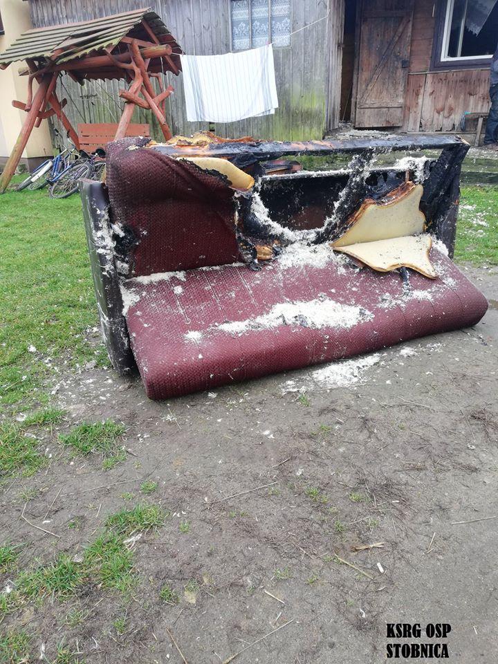 Photo of Pożar domu w Nowinkach (gmina Ręczno)