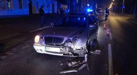 Kolizja na Słowackiego. Sprawca miał ponad 2 promile alkoholu
