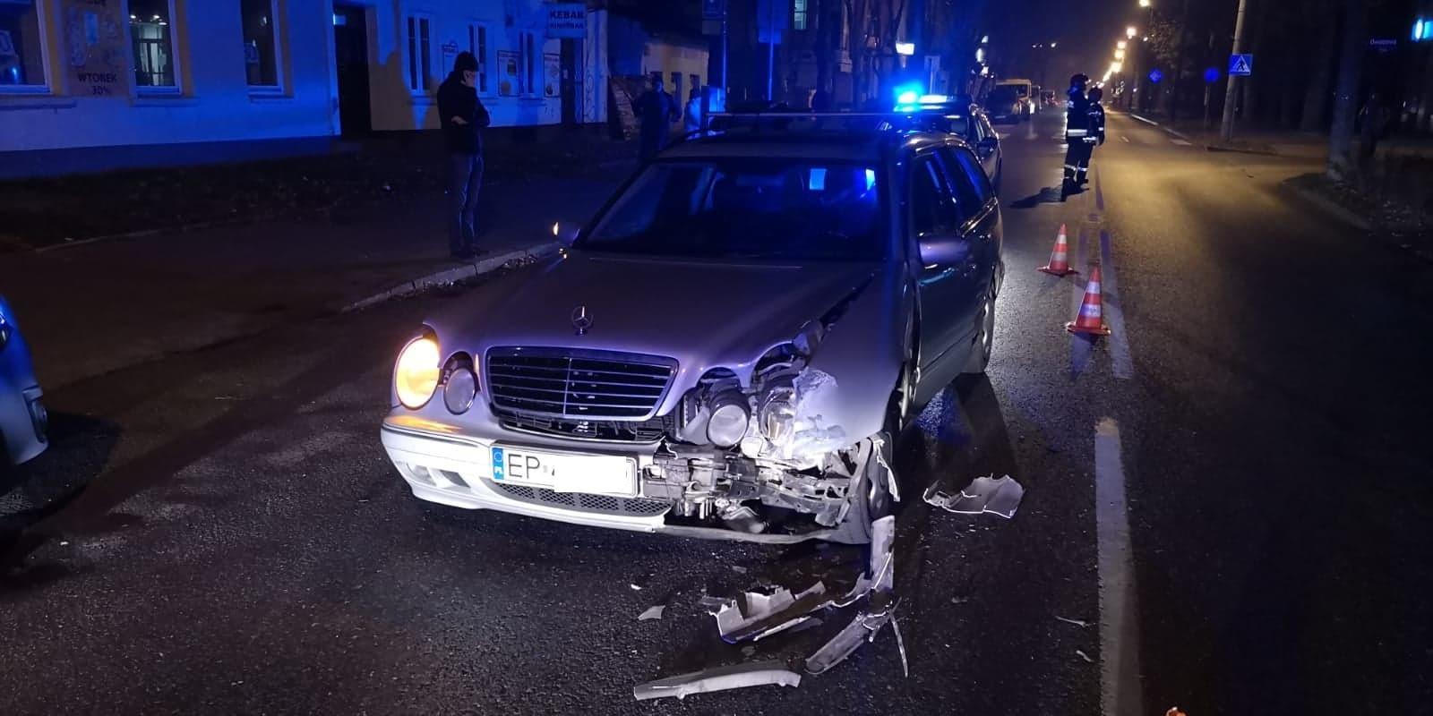 Photo of Kolizja na Słowackiego. Sprawca miał ponad 2 promile alkoholu