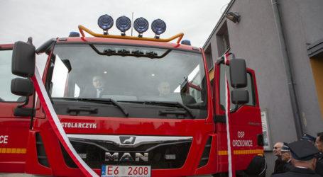 Nowy wóz bojowy dla gorzkowickich strażaków