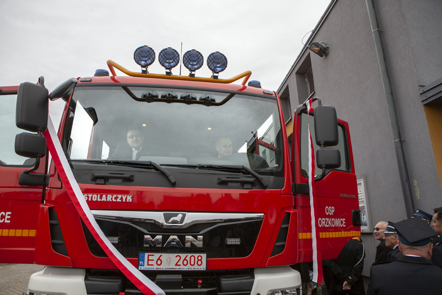 Photo of Nowy wóz bojowy dla gorzkowickich strażaków