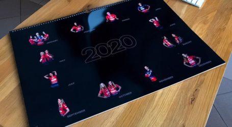 Kup kalendarz z piłkarkami Piotrcovii