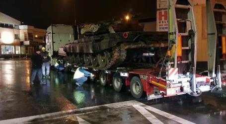 ITD zatrzymało transport czołgów. Kara dla przewoźnika to 50 tysięcy złotych!