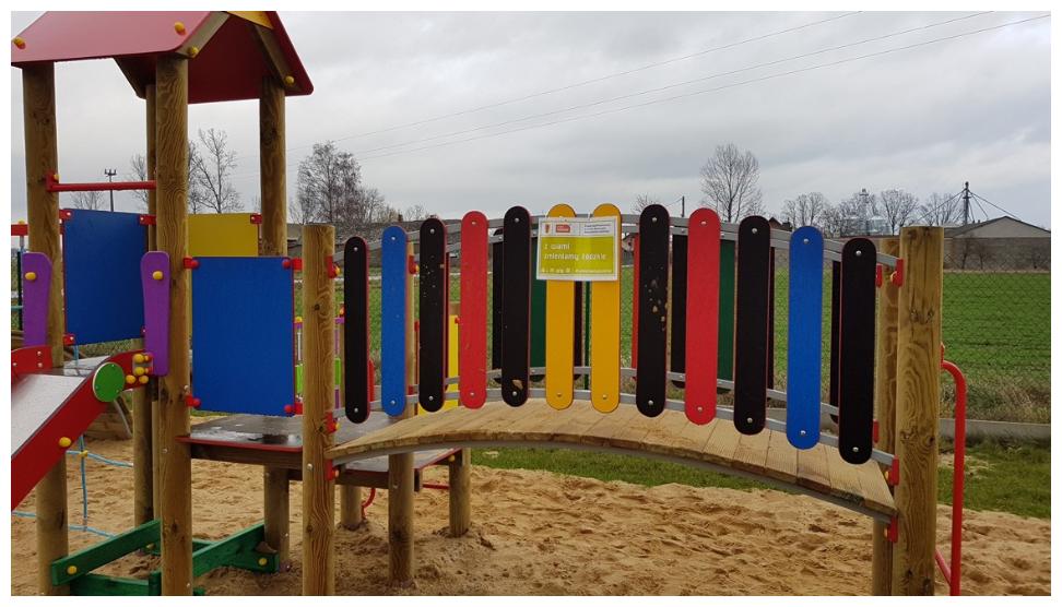 Photo of Nowy plac zabaw w Lutosławicach Rządowych