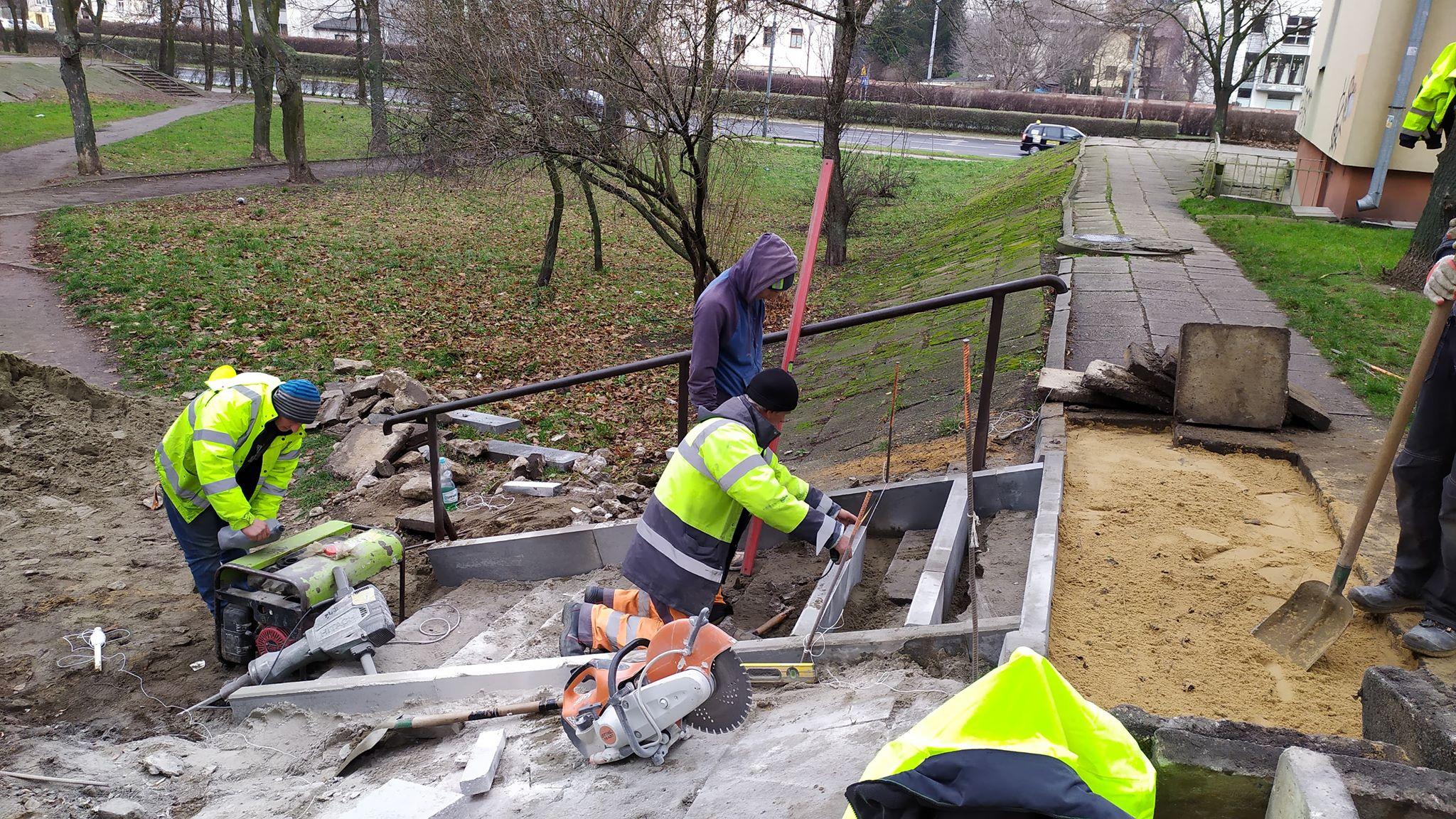 Photo of Nareszcie naprawiają schody