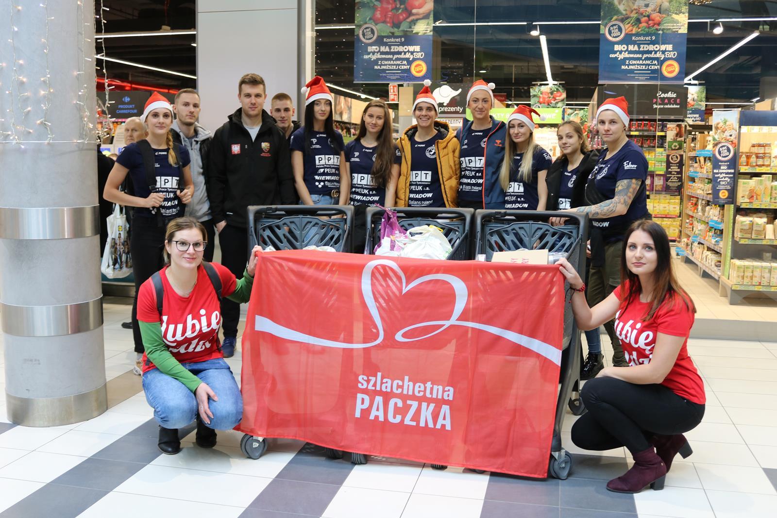 Photo of Sportowcy przygotowali Szlachetną Paczkę – FOTORELACJA