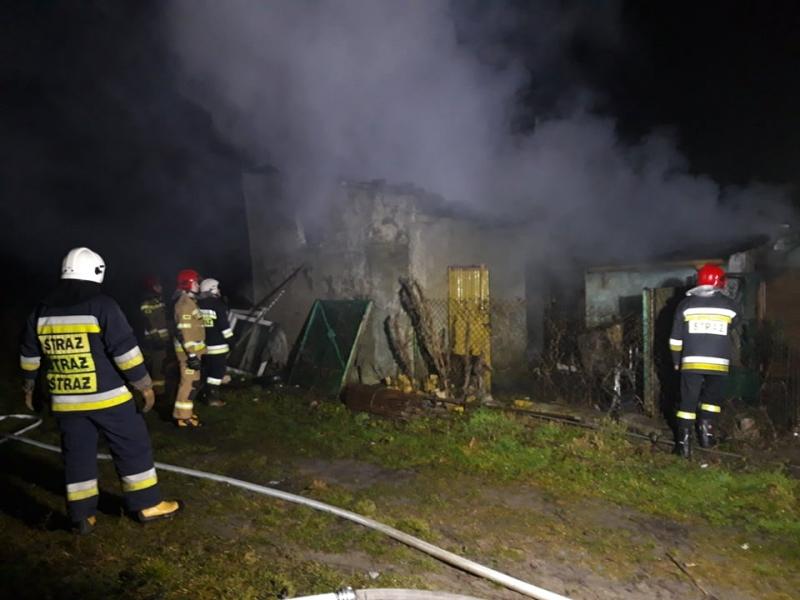 Photo of Pożar budynku gospodarczego w Uszczynie
