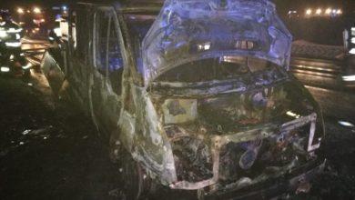 Photo of Sierosław: Pożar ciężarówki do przewozu ryb. Auto doszczętnie spłonęło