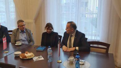 Photo of Starosta spotkał się z przedstawicielami Królestwa Danii