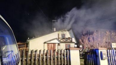 Photo of Ręczno: Spaliło się poddasze domu