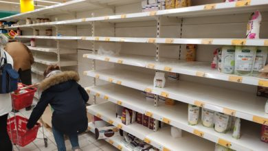 Photo of W piotrkowskich sklepach pustoszeją półki! To strach przed koronawirusem?