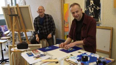 Photo of Piotrkowscy artyści na plenerze w Vienne