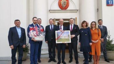 Photo of Starosta piotrkowski spotkał z się z Ambasadorem Królestwa Danii