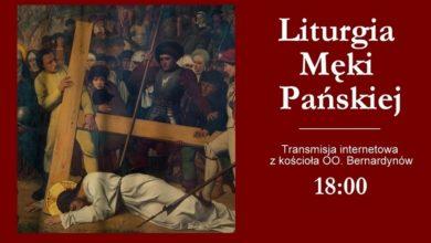Photo of Liturgia Męki Pańskiej na żywo z klasztoru ojców Bernardynów