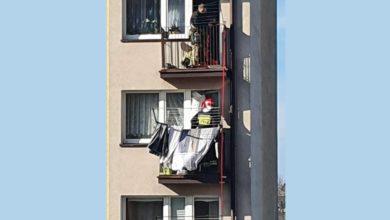 Photo of Sąsiad sąsiadowi podpalił balkon…