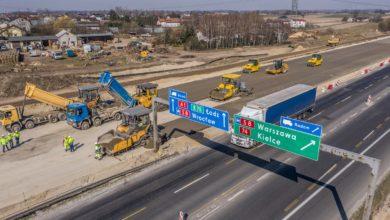 Photo of Na A1 wylewają pierwsze warstwy betonowej drogi – FILM Z DRONA