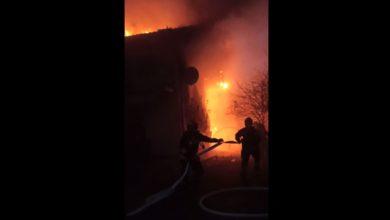 Photo of Pożar dachu w Majkowie