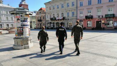 Photo of Wspólne patrole WOT i piotrkowskich policjantów