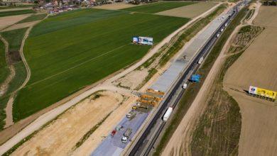 Photo of Jak układany jest beton na A1? – zobacz film z drona
