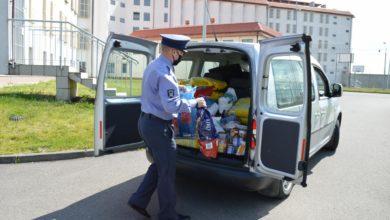 Photo of Ćwierć tony karmy dla piotrkowskiego schroniska od Aresztu Śledczego