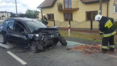 Photo of Wypadek z Srocku. Kierowca osobówki zderzył się z TIRem [AKTUALIZACJA]