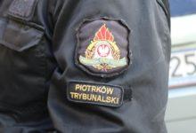Photo of Pożar w mieszkaniu na Wysokiej w Piotrkowie. W ogniu zginął pies – FILM