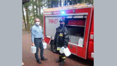 Photo of Strażacy rozwieźli płyny do przedszkoli i żłobków