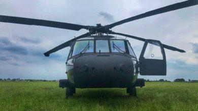 Photo of Amerykańskie Black Hawki na piotrkowskim lotnisku – ZDJĘCIA,FILM