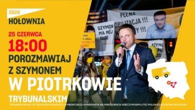 Photo of Szymon Hołownia odwiedzi Piotrków
