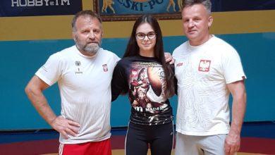 Photo of Wiktoria  Jaroniek z AKS Piotrków, trenowała z reprezentacją kadetek