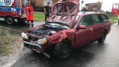 Photo of Wypadek w Komornikach – ranne dwie osoby
