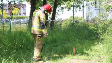 Photo of W pobliżu Domu Seniora operator kosiarki zerwał zawór gazowy
