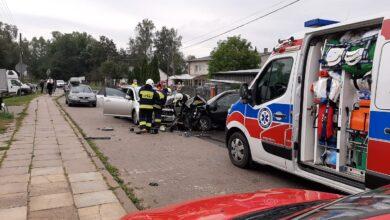 Photo of Wypadek na Klasztornej w Sulejowie
