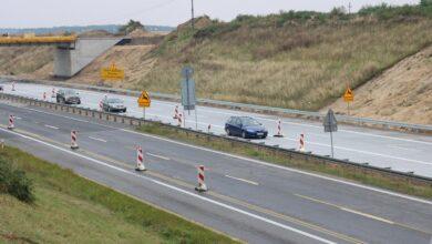 Photo of Pierwszy betonowy odcinek A1 pod Piotrkowem oddany do użytku – filmy, zdjęcia