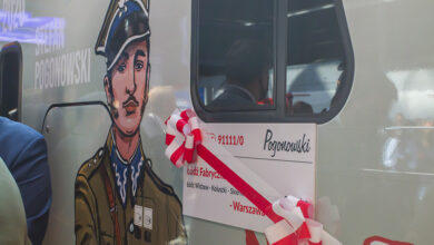 Photo of Stefan Pogonowski patronem pociągu Łódzkiej Kolei Aglomeracyjnej