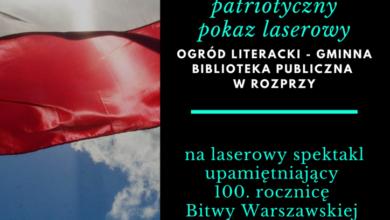 Photo of Pokaz laserowy w 100. rocznicę Bitwy Warszawskiej
