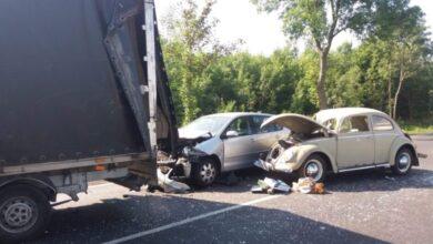 Photo of Wypadek pomiędzy Rozprzą a Białocinem