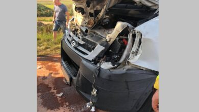 Photo of Kolizja w Jeżowie. Jedna osoba została ranna