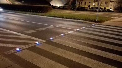 Photo of Trzy kolejne aktywne przejścia dla pieszych