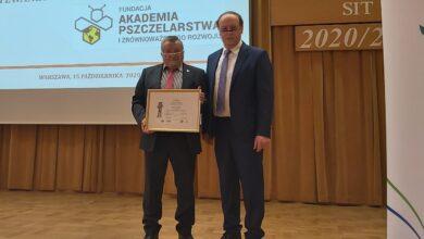 Photo of Pszczelarz z Piotrkowa jednym z najlepszych w kraju