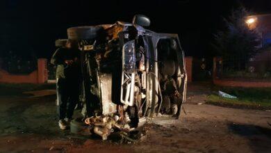 Photo of Zderzenie busa z płotem