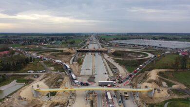 Photo of Sprawdź postęp prac na budowie A1 – FILMY Z DRONA