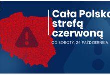 Photo of Cała Polska w czerwonej strefie
