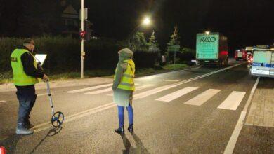 Photo of Śmiertelne potrącenie pieszego na DK12  w Karlinie