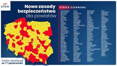 Photo of Powiat piotrkowski dołącza do czerwonej strefy. Rząd wprowadza nowe obostrzenia