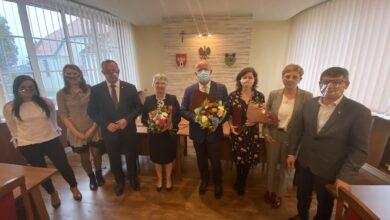 Photo of Burmistrz Wolborza spotkał się z nauczycielami