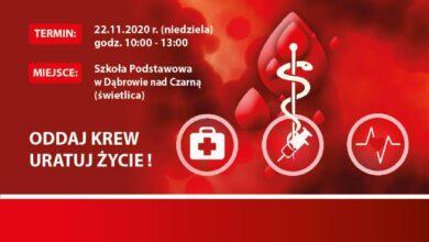 Photo of Zbiórka krwi w Dąbrowie nad Czarną