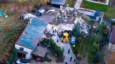 Photo of Wybuch gazu w domu we Włodzimierzowie. Nie żyje jedna osoba – AKTUALIZACJA