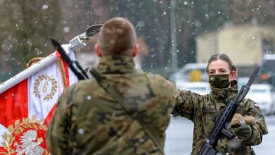 Photo of Przysięga terytorialsów w Dzień Podchorążego. Wśród nich mieszkańcy Piotrkowa – WIDEO, ZDJĘCIA