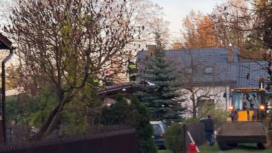 Photo of Starosta zaoferował mieszkanie poszkodowanej rodzinie z Włodzimierzowa